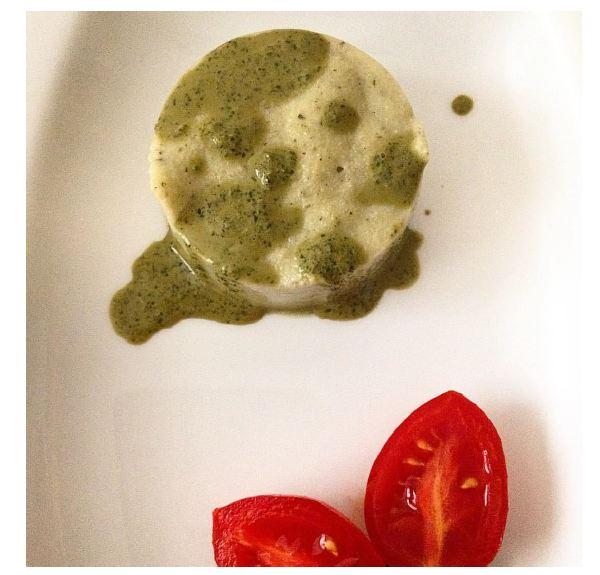 mozzarella al basilico e menta