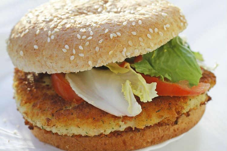 Vegan burger alla paprika