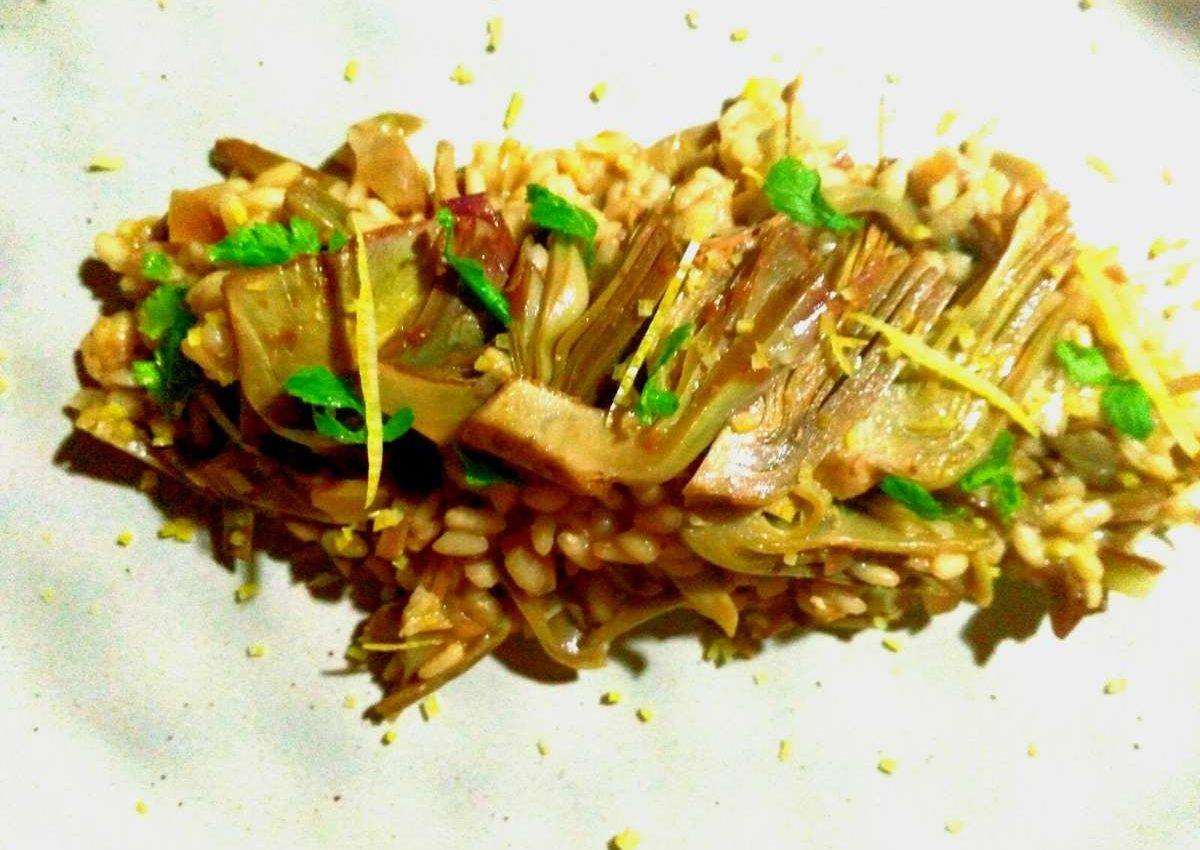 risotto vegan alla siciliana
