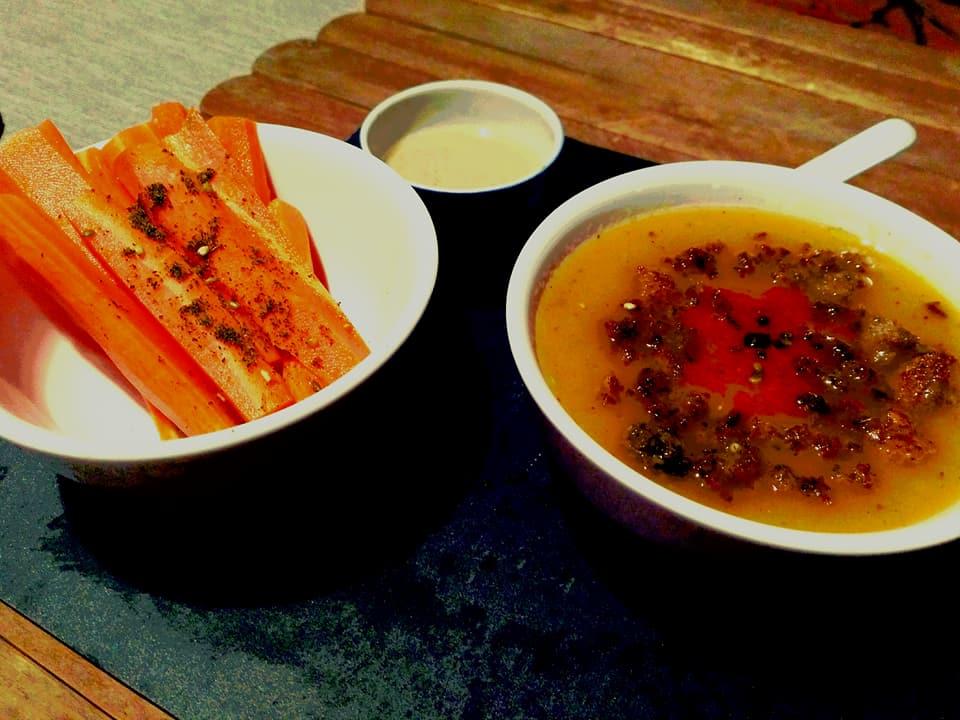 zuppa di miso vegan