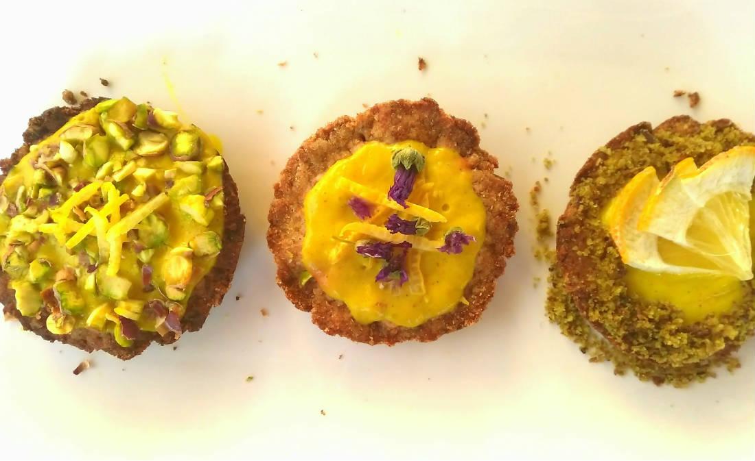 crostatine vegan con pasta frolla integrale