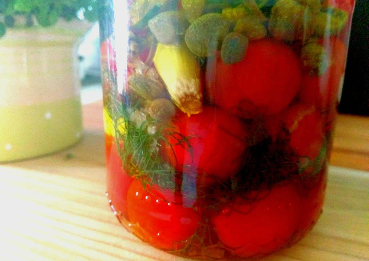 pomodorini marinati