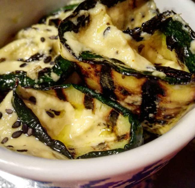 involtini vegan di zucchine
