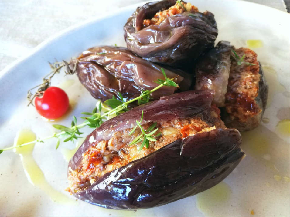 Melanzane marinate